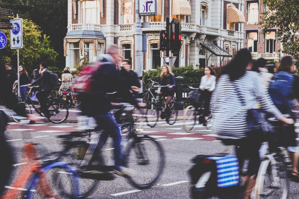 respect partage la route cycliste