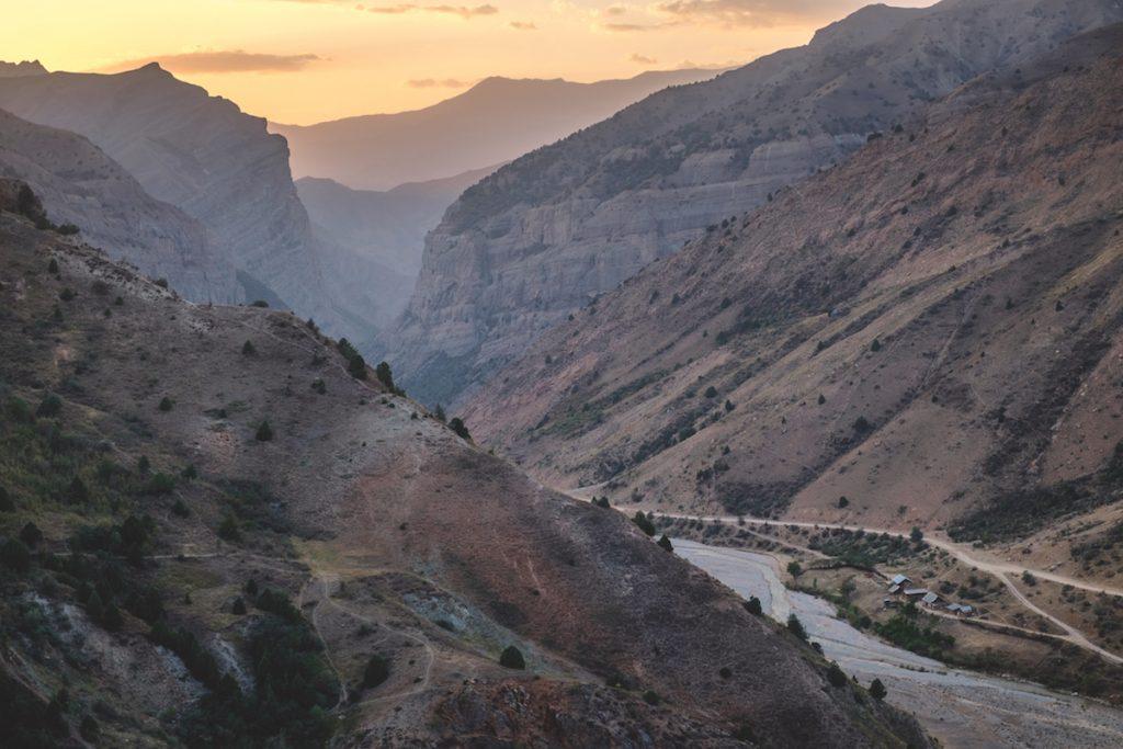 Chemin gorge (Safedoron, Tadjikistan)