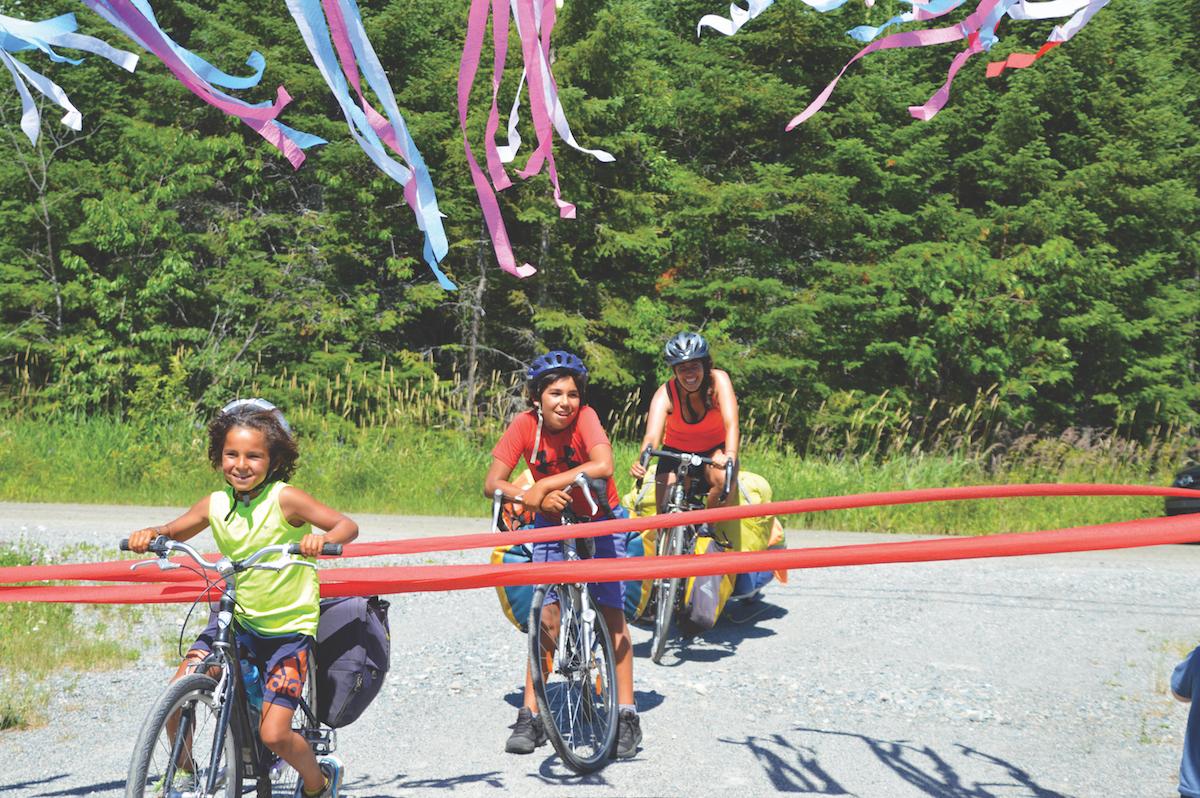 famille nomade cyclotourisme