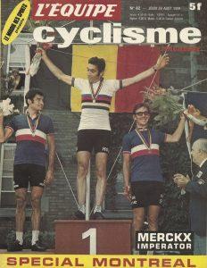 Magazine L'équipe 1974