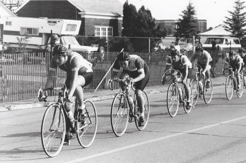 compétition femme vélo