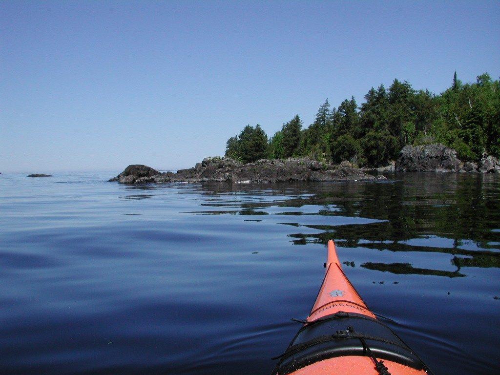 kayak pointe taillon lac st-jean
