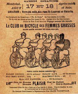 femmes grasses club cycliste