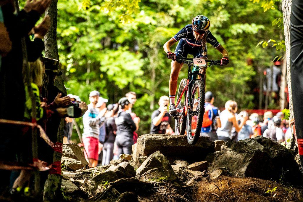 2019 UCI MTB World Championships at Mont-Sainte-Anne, Canada.