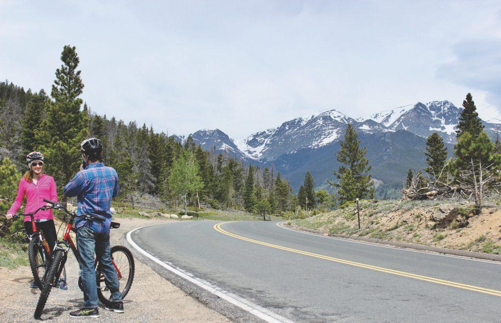 Colorado rocheuses velo