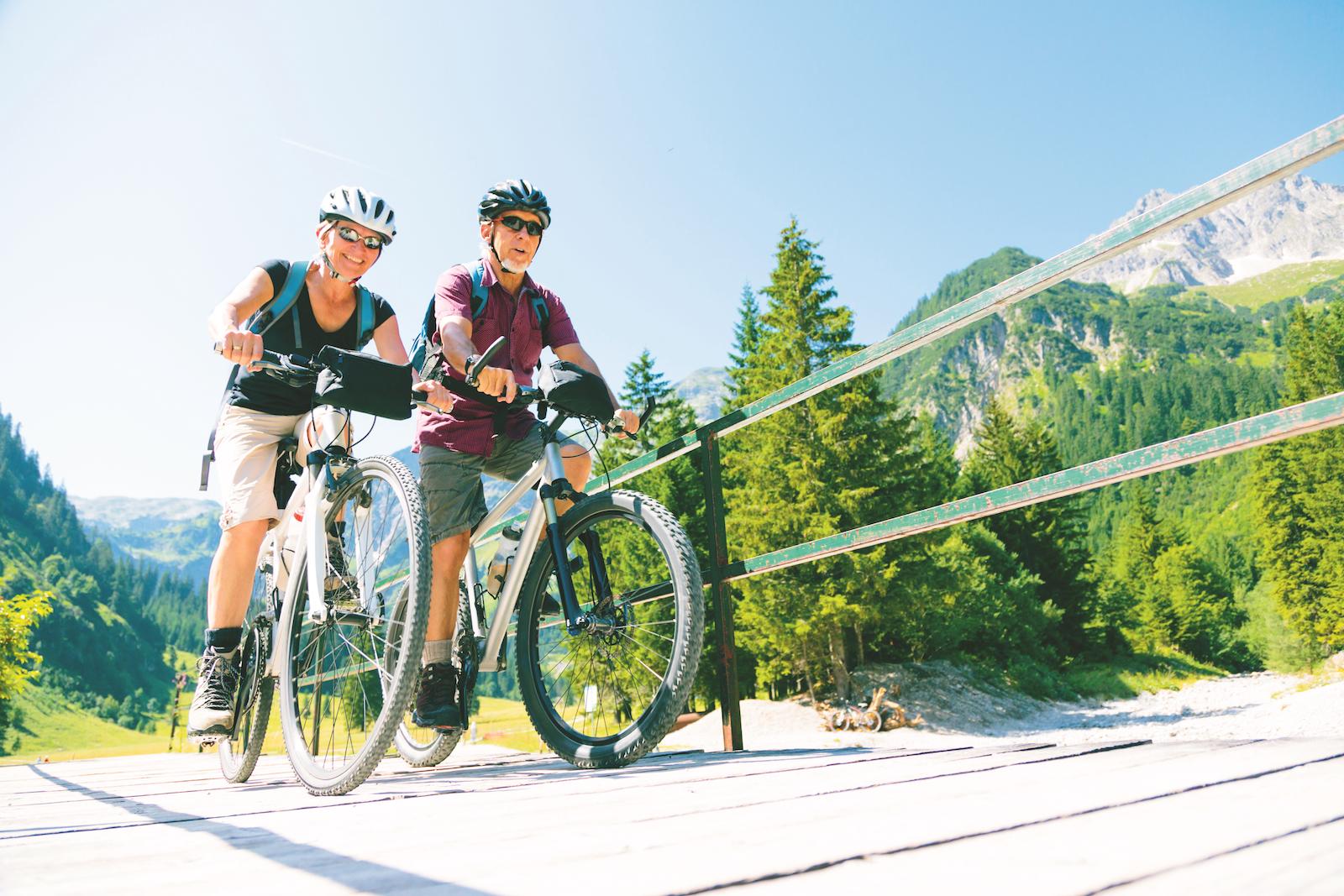 santé vieillir vélo